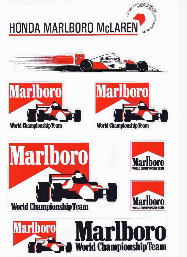 17 Best Images About Marlboro Racing Team On Pinterest