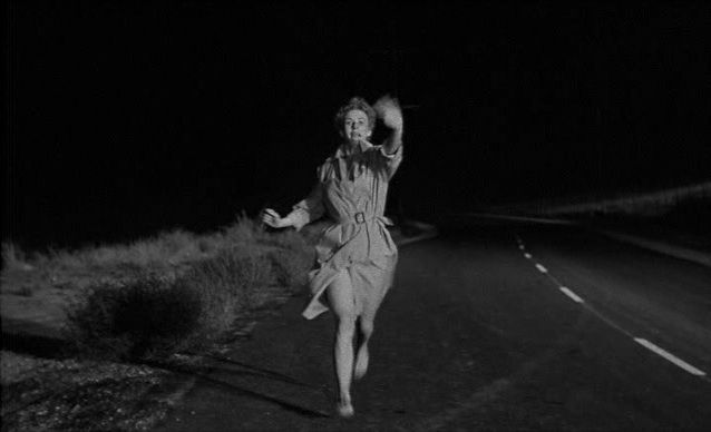 Kiss Me Deadly - Filmed in less than three weeks, this is a film noir detective story not to be missed. Based on a novel by Mickey Spillane, the dialogue is snappy and wise-cracking, and always entertaining. It's the ultimate pulp fiction.