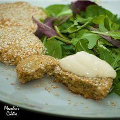 Chiftelute de naut si susan la cuptor / Baked chickpea and sesame balls - Madeline's Cuisine
