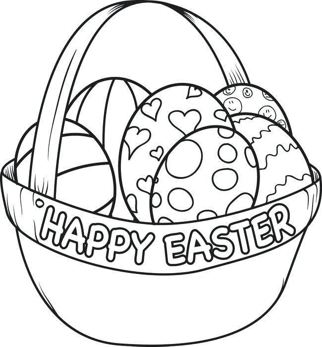 Coloring Pages Of Eggs Egg Basket Coloring Page Coloring Pages Easter Eggs Printable Coloring Easter Eggs Easter Egg Coloring Pages Egg Coloring Page