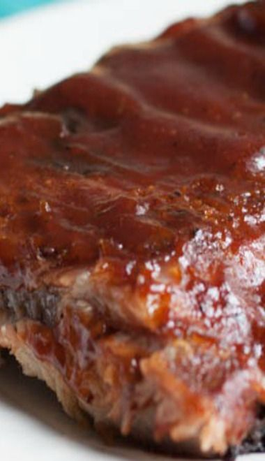 The Best Low & Slow Oven Baked BBQ Ribs