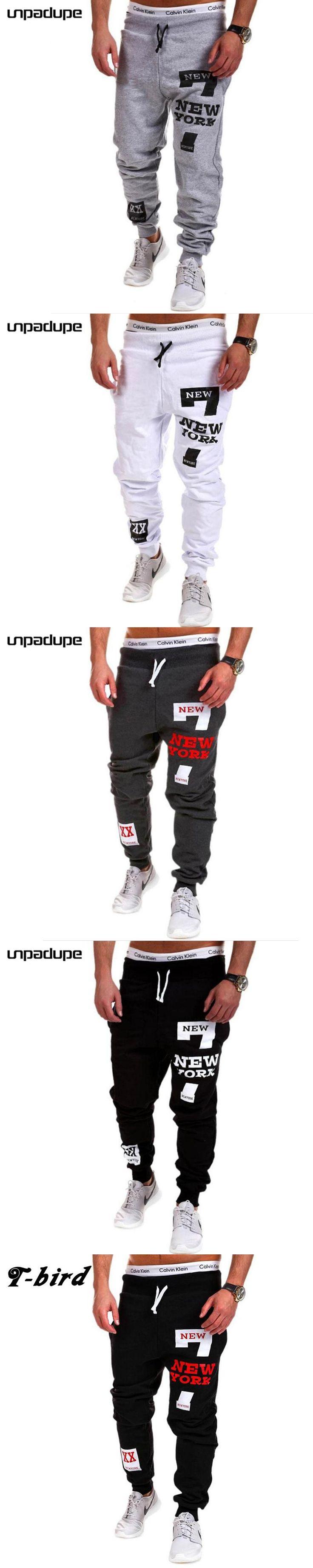 Mens Joggers 2017 Brand New Men Casual Pants Male Fashion Cool Sweatpants Outwear Trousers Hip Hop  Mens Joggers Pants Black 3XL