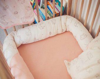 Crib bumpers   Etsy FR
