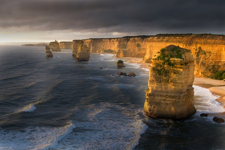 12 apostles at twilight, Melbourne // Australia