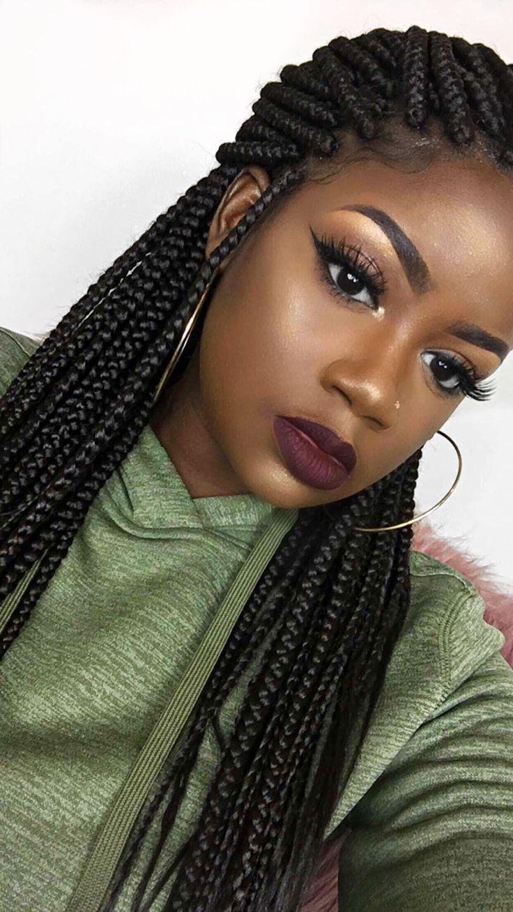 991 best Box braids images on Pinterest
