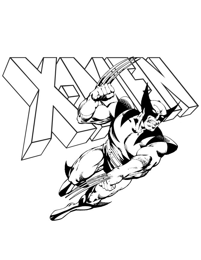45 best images about tattoo ideas on pinterest for X men coloring pages
