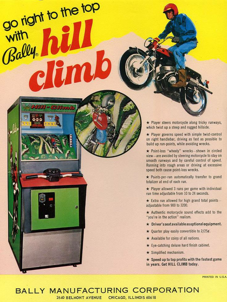 70s arcade | ... get any cooler than these two electro mechanical 70s arcade machines