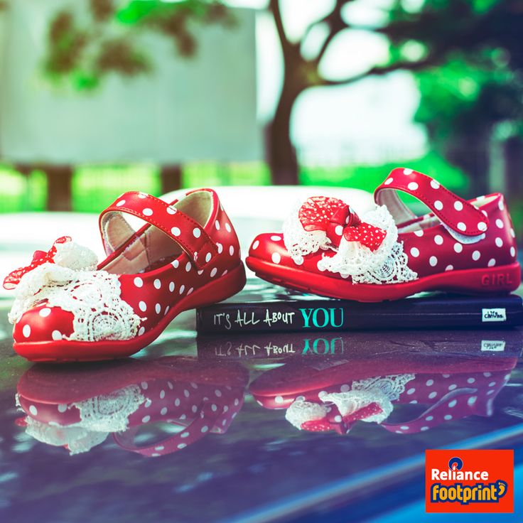 #Kids #Shoes #red #PolkaDots
