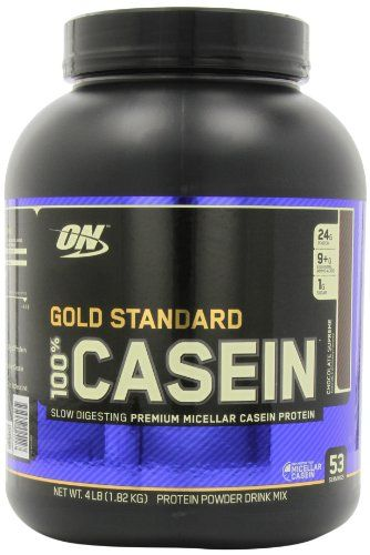 Optimum Nutrition 100% Casein Protein, Chocolate Supreme 4 Pound | Multicityhealth.com List Price: $82.45 Discount: $35.46 Sale Price: $46.99