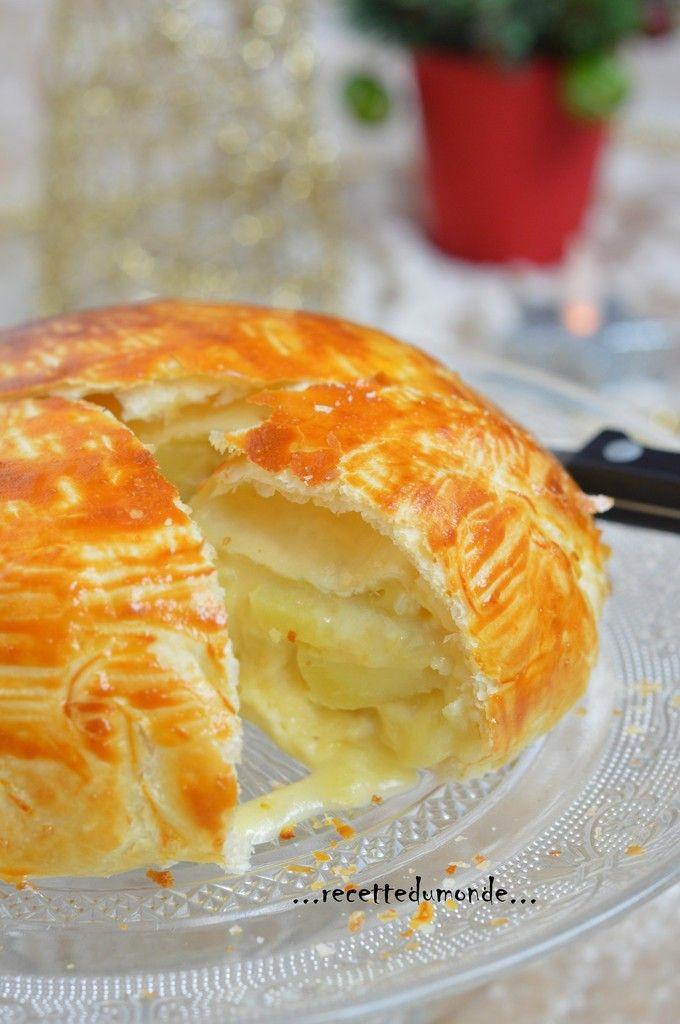 Hello! Une petite recette simple, qui accompagne à ravir une bonne salade verte. Vous pouvez utiliser d'autres fromages, reblochons ... Il vous faut: . 1 pâte feuilletée . 1 camembert . 4 pomme de terre cuites dans un bain d'eau salée . 1 oignon . 10...