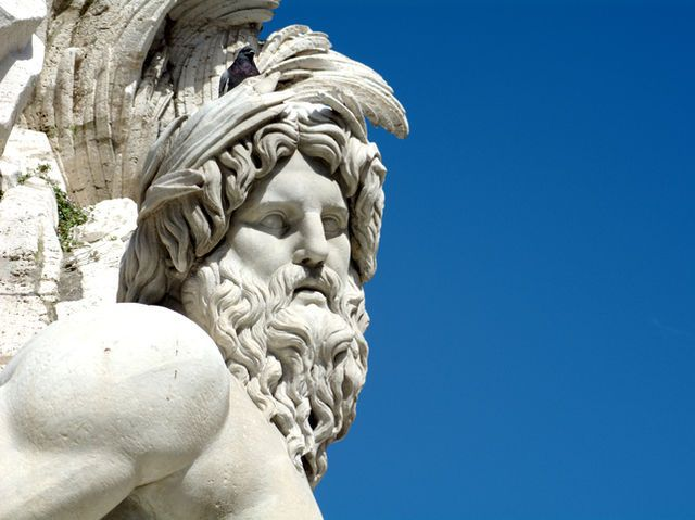 Who was born from the head of Zeus (her father)?