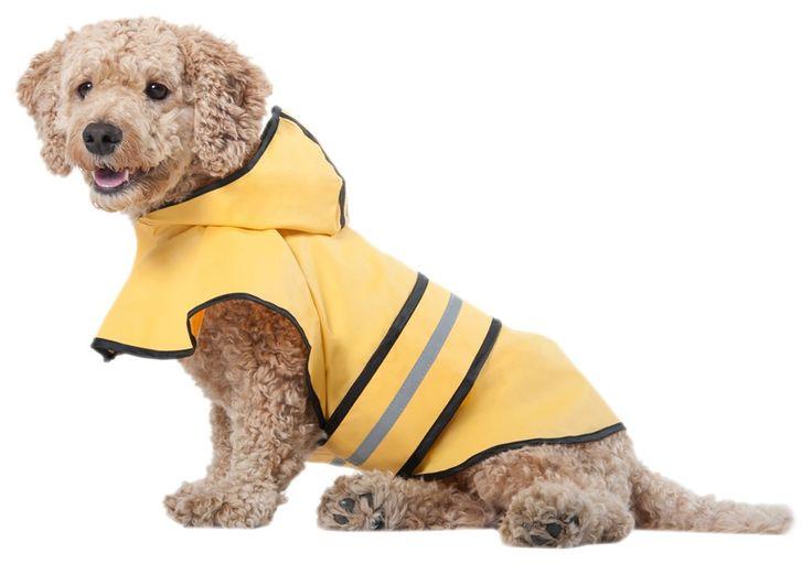 Fashion Pet Rainy Days Slicker Yellow Raincoat >>> For more information, visit image link.