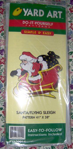 Santa and flying sleigh do it yourself yard art patterns 41 x 38 santa and flying sleigh do it yourself yard art patterns 41 x 38 click solutioingenieria Choice Image