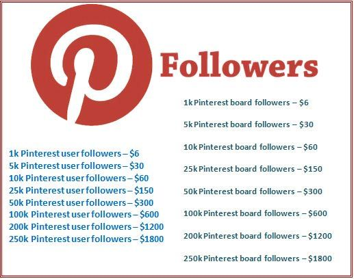 Grow Your #Pinterest Community.  Get User and Board Followers  #PinterestFollowers #PinterestMarketing #socialmediamarketing #SocialMedia  #socialmediamarket #socialselling  #SocialServices #socialmediatips