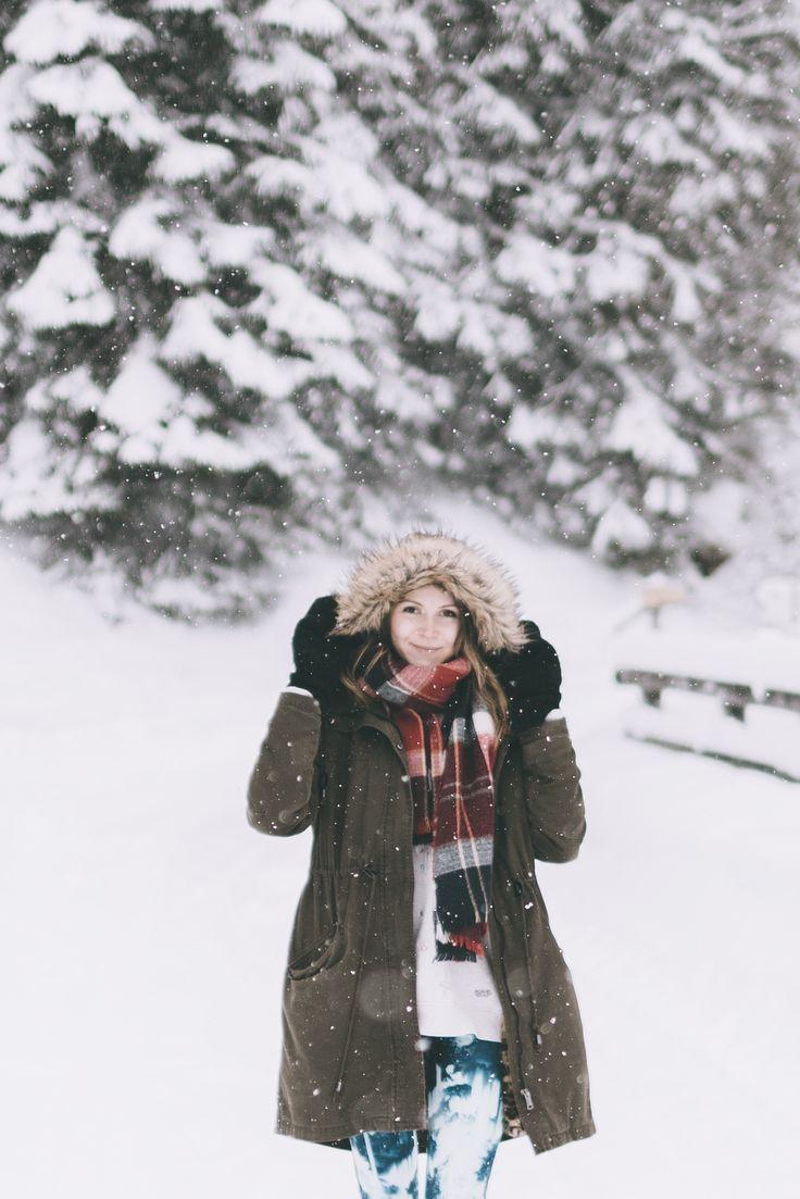Winter portrait #snow #wanderlust #girl #portrait #photography #adventure #mountains