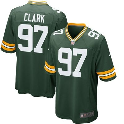 Green Bay Packers Home Game Jersey - Kenny Clark: Green Bay Packers Home Game Jersey - Kenny Clark - 1st Round Draft Pick TEAM LOYALTY,…