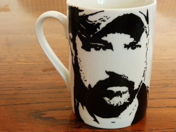 Bobby Singer cup. I can't explain in words how much I need this!