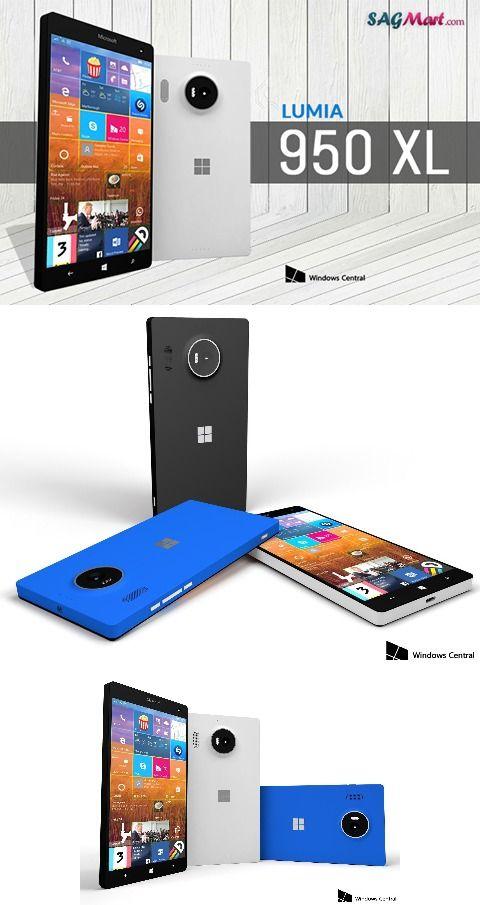 Microsoft Lumia 950 XL @http://www.sagmart.com/mobile/Microsoft-Lumia-950-XL/