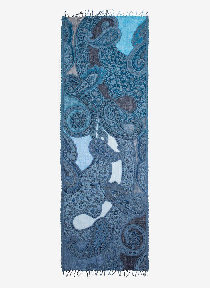 Floral foulard scarf - View All - Accessories - Uterqüe Spain