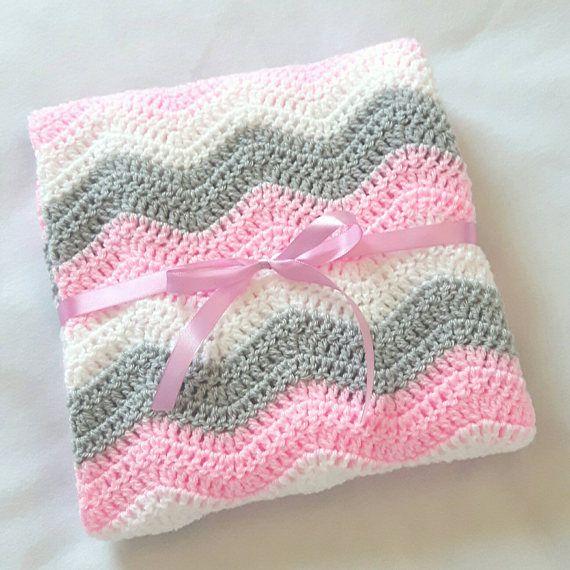 Plaid Sorbet Aus Recycelter Baumwolle Mit Pompoms Rosa Decke