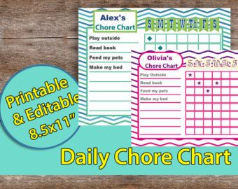 Fitness planner editable Workout Planner by AllPrintableDesigns
