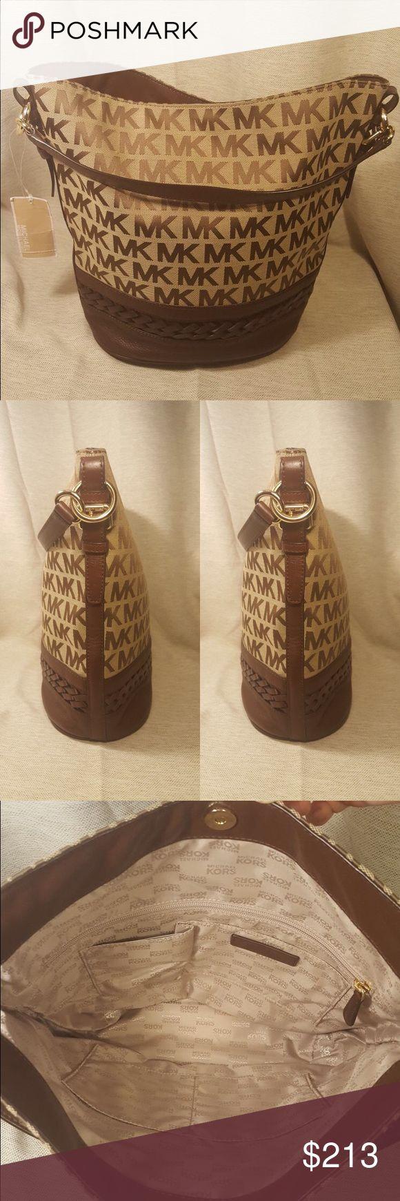 BRAND NEW Michael Kors Gladstone Bucket Purse NWT Michael Kors Gladstone Handbag. Retails for $328. Make me an offer :) MICHAEL Michael Kors Bags