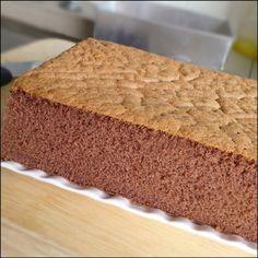 KitchenTigress: Fluffy Chocolate Sponge Cake (巧克力海绵蛋糕)