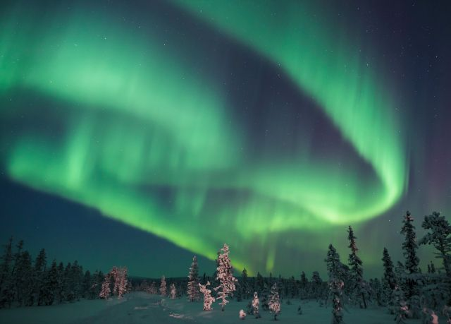 Three or four-night Lapland trip with husky safari and Northern Lights hunt £800 pp