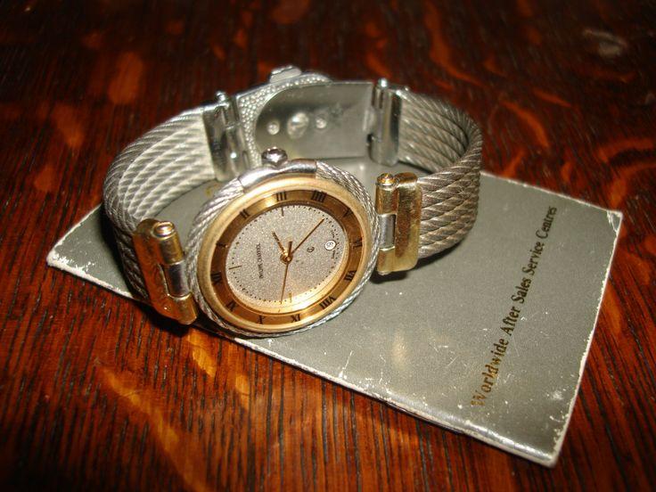 vintage watch / vintage ladies watch  philippe charriol  stainless steel by StinkyTinkysTreasure on Etsy