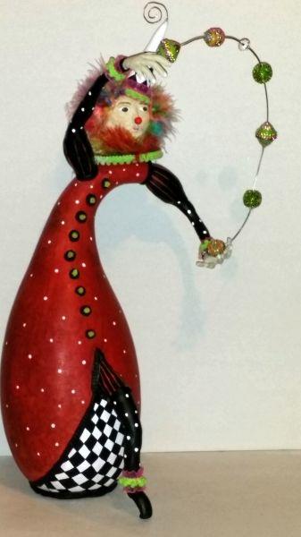Juggling Clown by Shannon Ashcroft