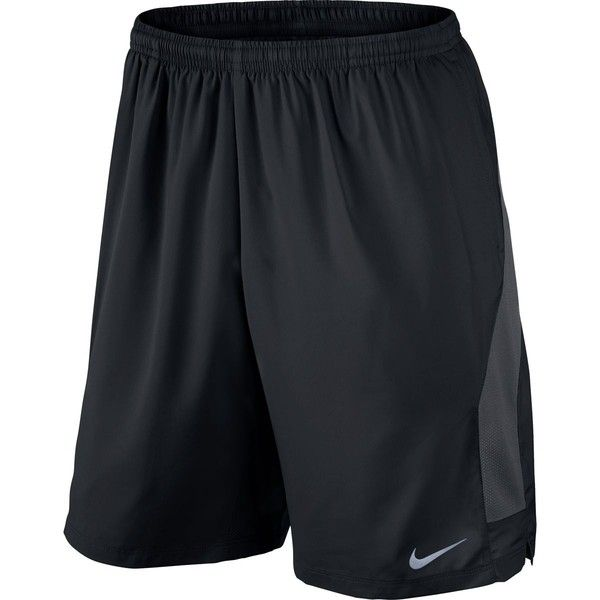 "Nike 9"" Freedom Short ($45) ❤ liked on Polyvore featuring activewear, activewear shorts, nike sportswear, nike activewear and nike"