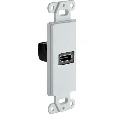 HDMI Wall Outlet with 90° HDMI Port