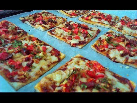 Milföy Pizza Tarifi Videolu www.yemekustalari.com - YouTube