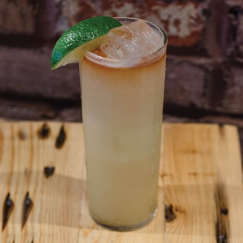 Black & Ginger  |  This rum-based drink takes less than five minutes to prepare.  |  liquor.com
