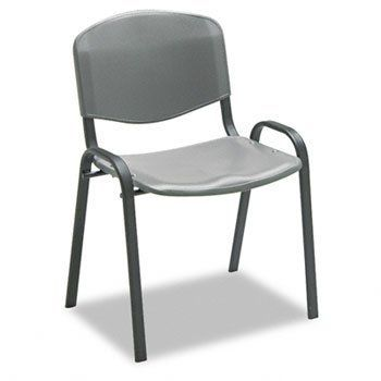NEW - Contour Stacking Chairs, Charcoal w/Black Frame, 4/Carton - 4185CH by Safco. $301.33. 97. Contoured seat and back for comfort. Lightweight for easy transport. Plastic glides protect floor. Chair connectors SAF-4189 (Sold Separately) allow fixed chair grouping. Stack for easy storage. Recommended Applications: Guest, Reception, Waiting Room & Lounge; Features & Functions: N/A; Arms Included: No; Back Width Minimum: N/A. Generous contoured seat and back. Extra-strong frame pr...