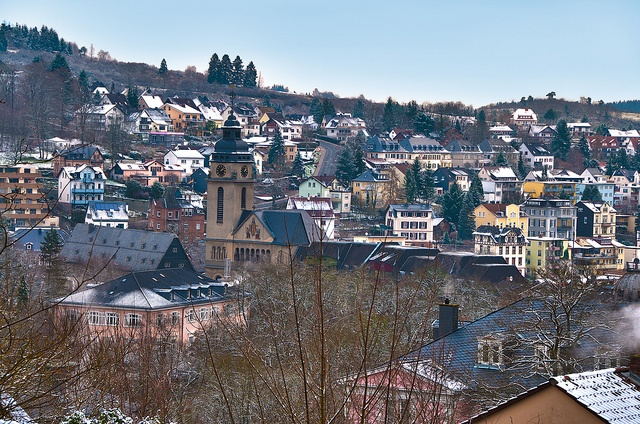 Bad Schwalbach, Germany  I lived here in my youth and feel so lucky to have done so.  I miss it.