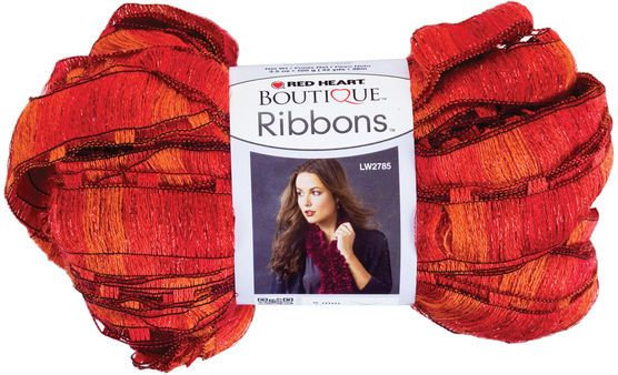Red Heart Boutique Ribbons Yarn, , hi-res