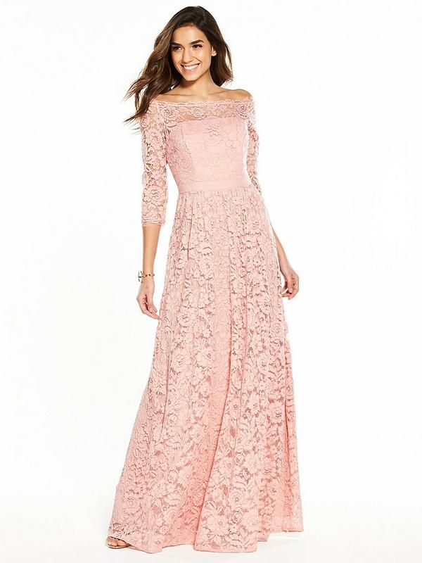 865d9c93736 V by Very Lace Bridesmaid Dress A beautiful dress to accompany a blushing  bride