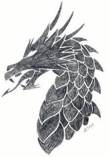 Beautiful Dragon Head Tattoo Designs 3
