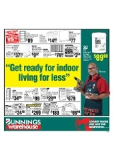 Bunnings NZ Catalogue: Get Ready For Indoor Living For Less