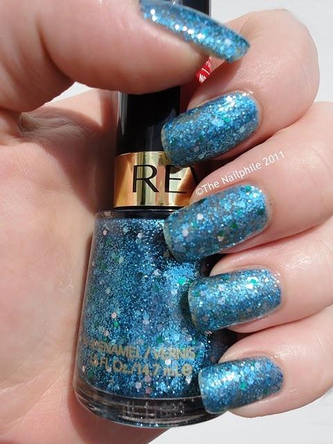 Revlon Blue Mosaic Nail Polish