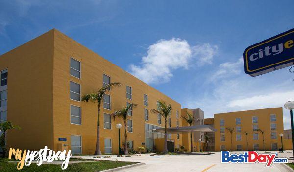 City Express Campeche ofrece los servicios necesarios para un productivo viaje de negocios en donde estar bien comunicado y contar con los espacios de trabajo ideales son una prioridad. Disfruta de una relajante escapada de fin de semana o una estancia prolongada en esta apacible ciudad, gozando de amplias y bien iluminadas habitaciones, centro de negocios, gimnasio, Internet inalámbrico, transportación, desayuno y estacionamiento. #MyBestDay