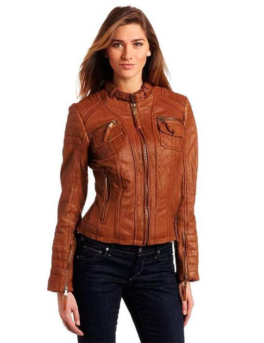 женские стильные кожаные куртки 2014, новинки сезона фото ...