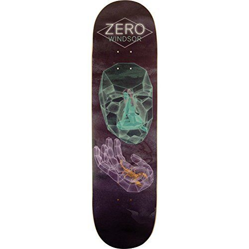 "Zero Skateboards Windsor Lose Your Illusions Skateboard Deck – 8.5″ x 32″: Deck Size: 8.5"" width x 32"" length Zero Skateboards Windsor Lose…"