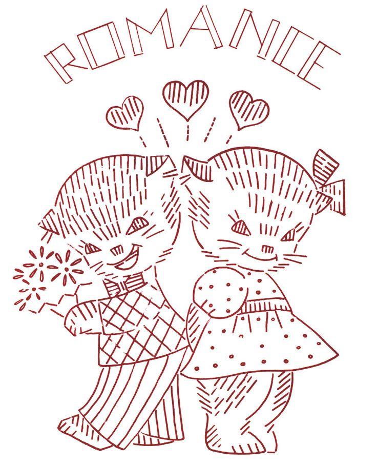129 Best Embroidery Cats Images On Pinterest Embroidery Designs