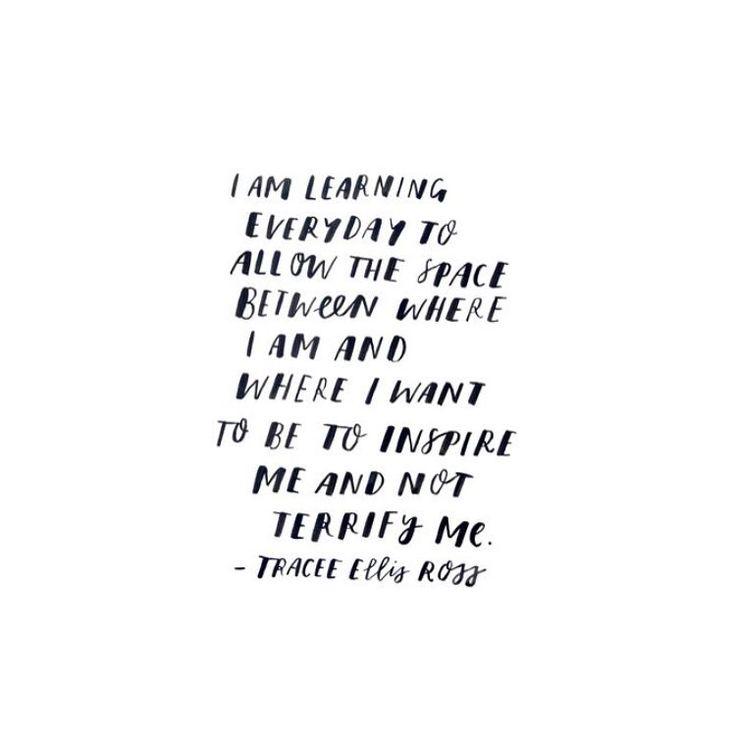 Learning, always x  Lettering by Renee Denaro  @sadiestreetdesignco
