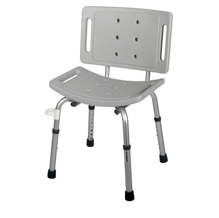 Nova Foldable Shower Chair With Back
