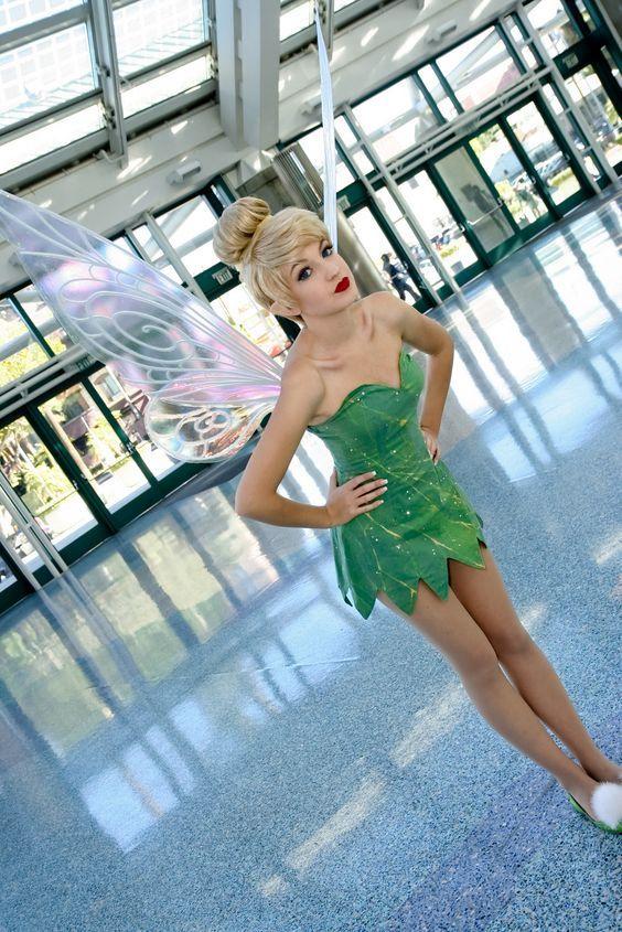 Cute Tinker Bell Costume.