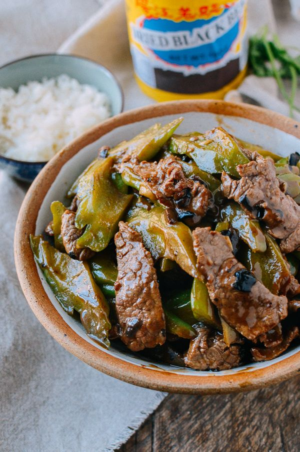 Beef with bitter melon is one of the most common Chinese bitter melon recipes out there, stir-fried with black bean sauce and served over hot steamed rice.