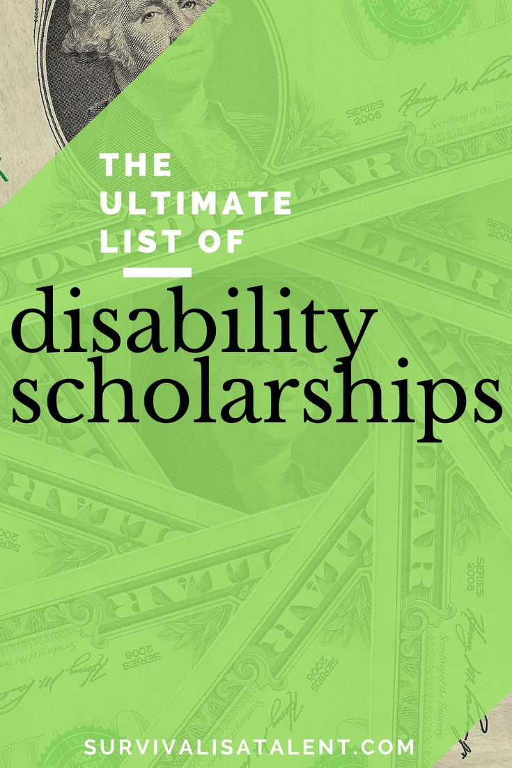 The Ultimate List of Disability Scholarships